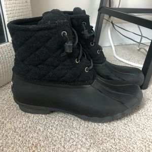 Gently used Sperry Rain/Winter boots